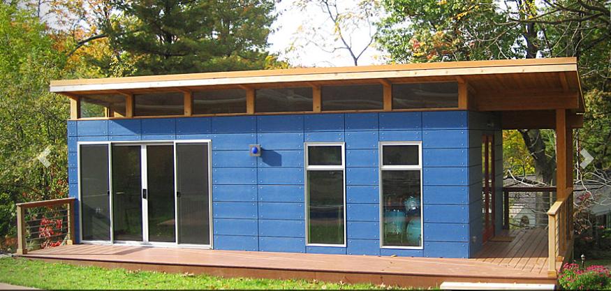 modern shed studio