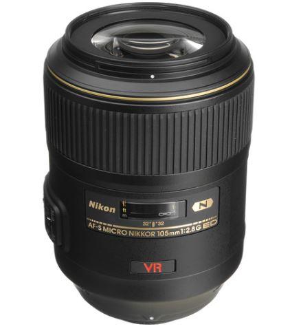 nikon 105mm lens