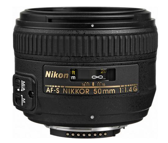nikon 50mm f1.4 lens