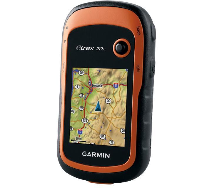 image of a garmin etrex portable GPS